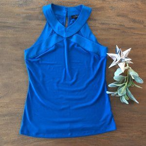 The Limited Blue Halter Top size Small